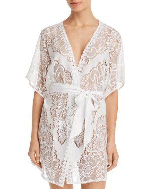 MILLIE LACE ROBE