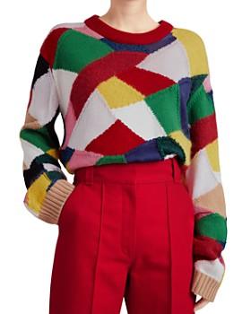 Burberry - Gladey Patchwork Sweater Burberry - Gladey Patchwork Sweater 938e6a366