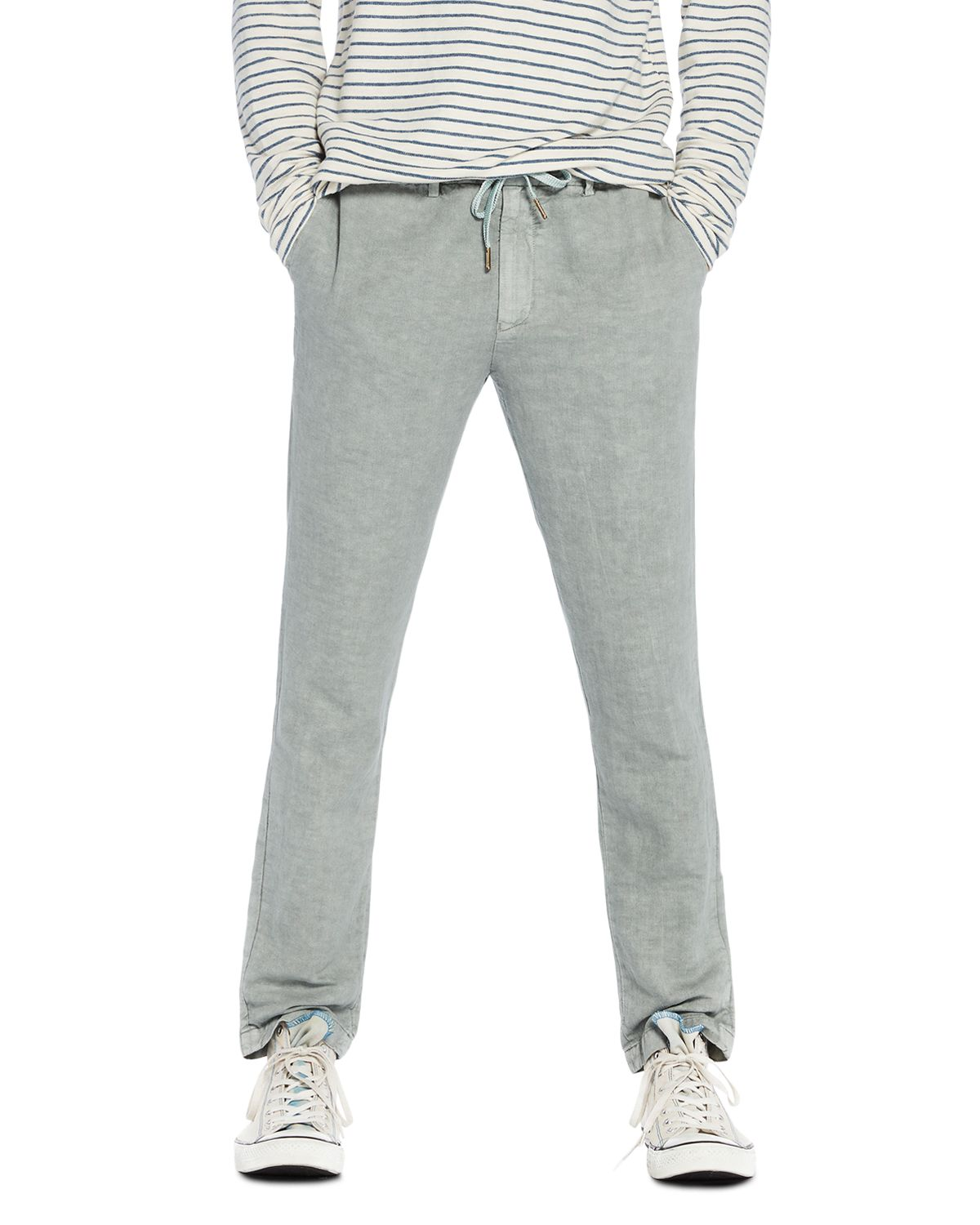 Garment Dyed Straight Fit Pants by Scotch & Soda