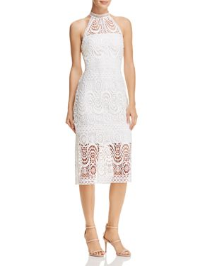 Laundry by Shelli Segal Mock-Neck Lace Dress 2951291