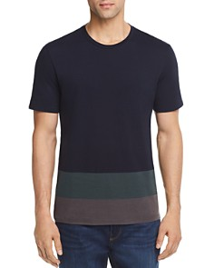 Theory Gaskell Colorblock-Hem Tee - 100% Exclusive - Bloomingdale's_0