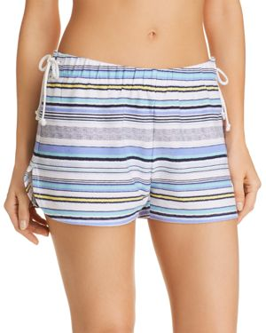 JANE & BLEECKER NEW YORK STRIPE PAJAMA SHORTS