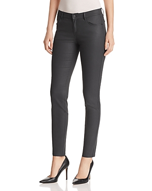 Lafayette 148 New York Mercer Coated Skinny Jeans in Eclipse
