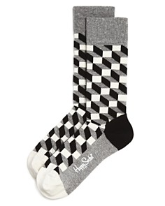 Happy Socks Optical Socks - Bloomingdale's_0