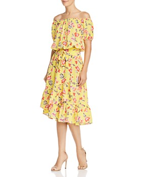 Joie - Denisha Floral Silk Skirt