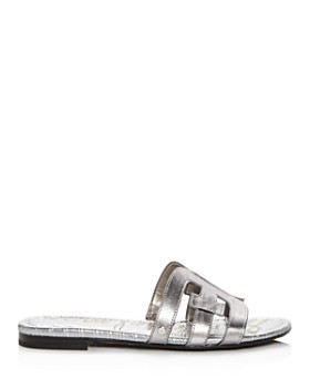 Sam Edelman - Women's Bay Leather Slide Sandals