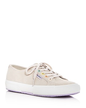 Superga - Women's Classic Suede Lace Up Sneakers