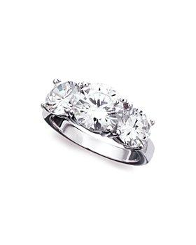 Crislu - Classic Three-Stone Ring