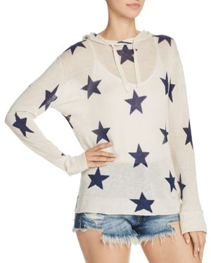 STAR HOODED SWEATER - 100% EXCLUSIVE