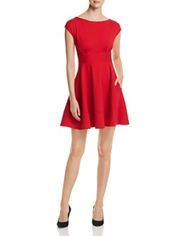 kate spade new york - Fiorella Ponte Cap-Sleeve Dress