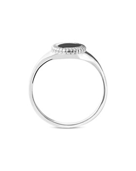 Shinola - Sterling Silver Coin Edge Petite Signet Ring