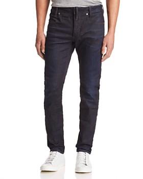 G-STAR RAW - D-Staq Slim Fit Jeans in Dark Aged