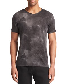 John Varvatos Collection Burnout Knit Crewneck Tee - Bloomingdale's_0