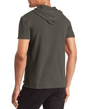 John Varvatos Star USA - Short Sleeve Pullover Hoodie - 100% Exclusive