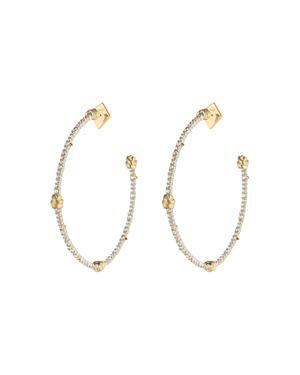Alexis Bittar Knotted Hoop Earrings