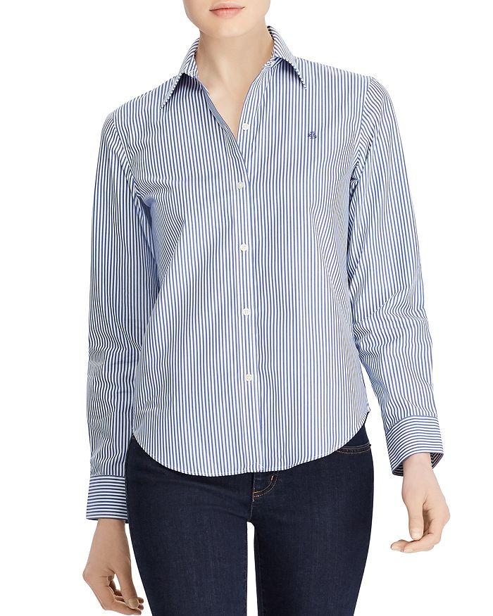 6624b93046baf Ralph Lauren - Pinstriped No-Iron Shirt