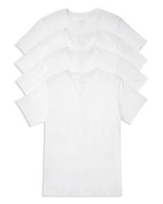 Calvin Klein V-Neck Tee - Pack of 4 - Bloomingdale's_0