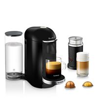 Deals on Breville Nespresso VertuoPlus Deluxe with Aeroccino Milk Frother