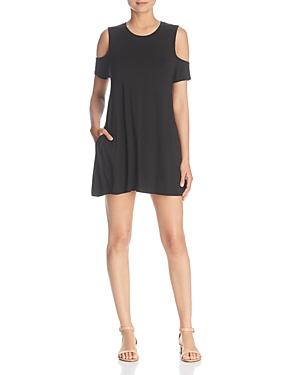 Elan COLD-SHOULDER DRESS