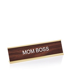 He Said She Said Mom Boss Nameplate - Bloomingdale's_0