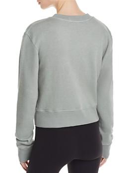Spiritual Gangster - Varsity Cropped Sweatshirt