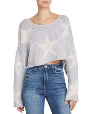 Wildfox Star Crossed Cropped Sweater