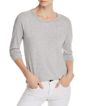 CHASER - Seamed Shirttail Tee