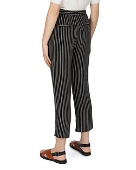Gerard Darel - Marie Striped Cropped Pants