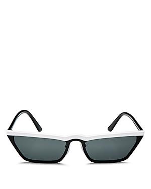 Prada Women's UltraVox Slim Cat Eye Sunglasses, 58mm