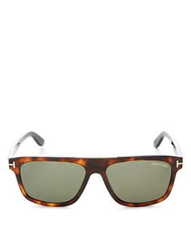 Tom Ford - Men's Cecilio Flat Top Square Sunglasses, 56mm