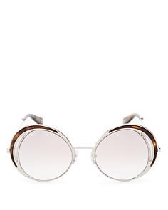 MARC JACOBS - Women's Mirrored Round Sunglasses, 51mm