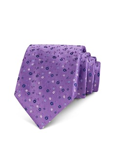 The Men's Store at Bloomingdale's Ditsy Tossed Floral Classic Tie - 100% Exclusive_0