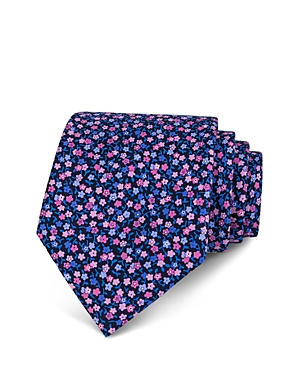The Men's Store at Bloomingdale's Ditsy Floral Classic Tie - 100% Exclusive