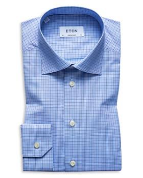Eton - Check Regular Fit Dress Shirt