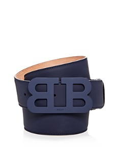 Bally Tonal Matte Buckle Leather Belt - Bloomingdale's_0