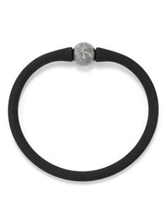 David Yurman - Spiritual Beads Stone Rubber Bracelet with Meteorite