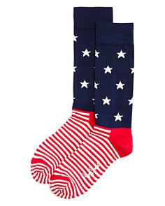 Happy Socks Stars & Stripes Socks - Bloomingdale's_0