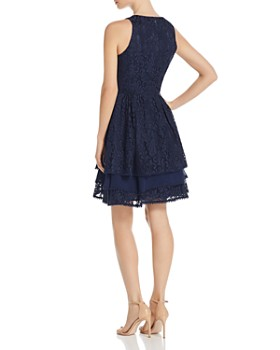 Eliza J - Tiered Lace Dress