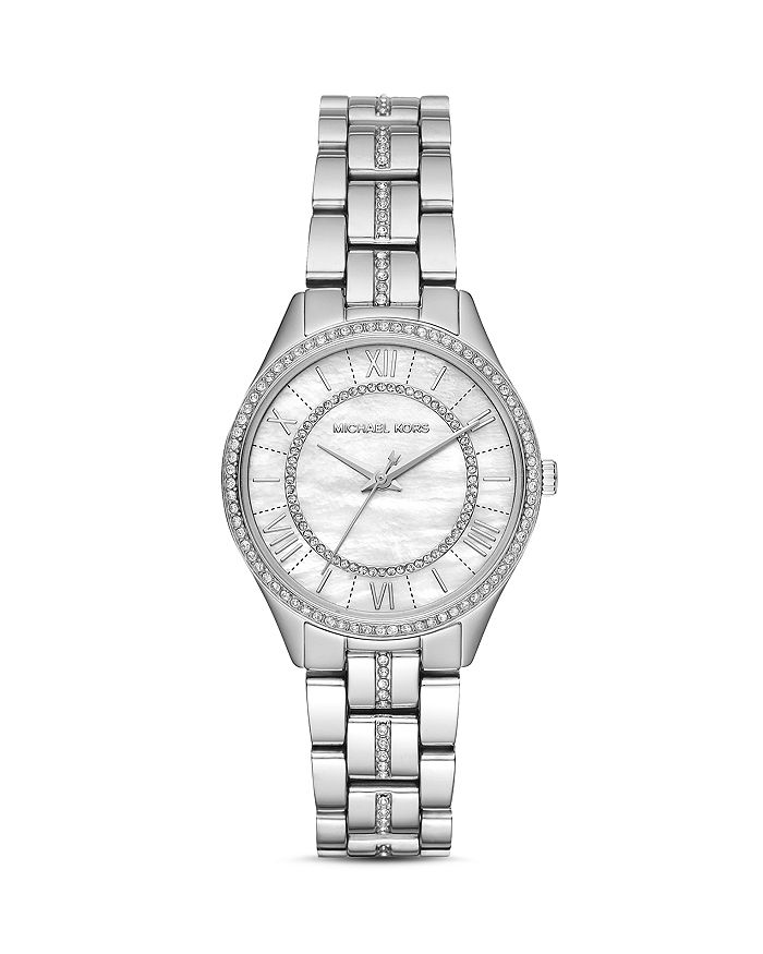 Michael Kors - Mini Lauryn Pavé Watch, 33mm x 39mm