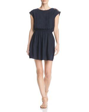 ALVA EMBELLISHED SHOULDER DRESS