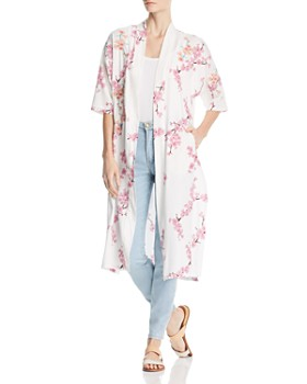Billy T - Lightweight Cherry Blossom Duster Jacket
