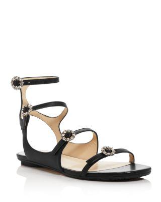 Naia Embellished Gladiator Sandals