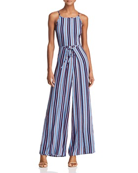 Band of Gypsies - Gia Striped Jumpsuit