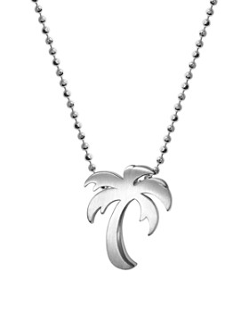 dda5be01d3d9c Alex Woo - Silver Cities Palm Tree Necklace