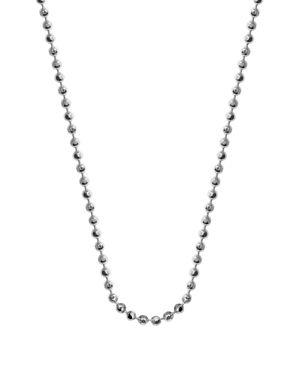 ALEX WOO Mini Chain, 16 in Silver
