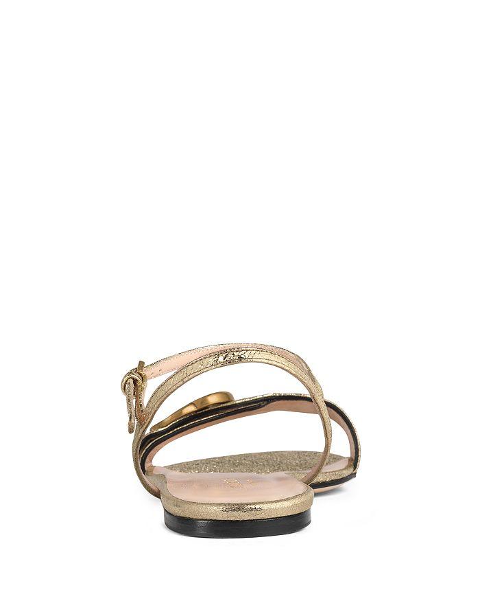 9ce651af0111 Gucci - Women s Marmont Leather Double G Sandals