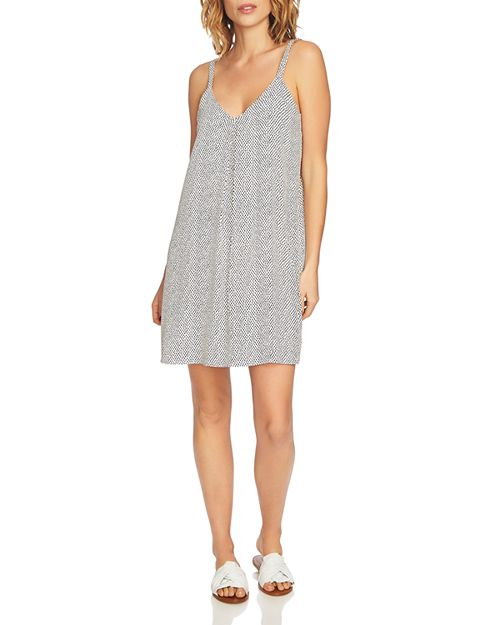 1.STATE - Dot Print Slip Dress