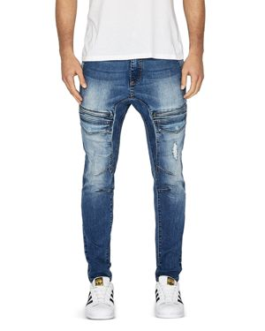 NXP HURRICANE SLIM FIT JEANS IN LINCOLN BLUE