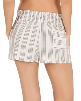 Midnight Bakery - Stripe Woven Shorts