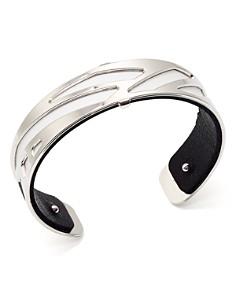 Les Georgettes - Ruban Reversible Two-Tone Open Cuff Bracelet